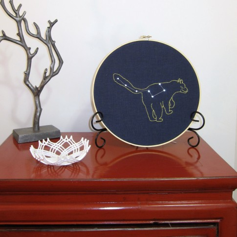 Sewing Electrified LED Embroidery kit - Ursa Minor